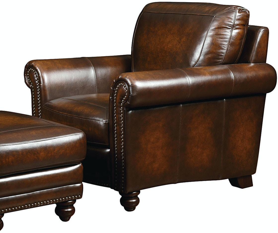 Bassett Hamilton Leather Sofa 24999 - Talsma Furniture